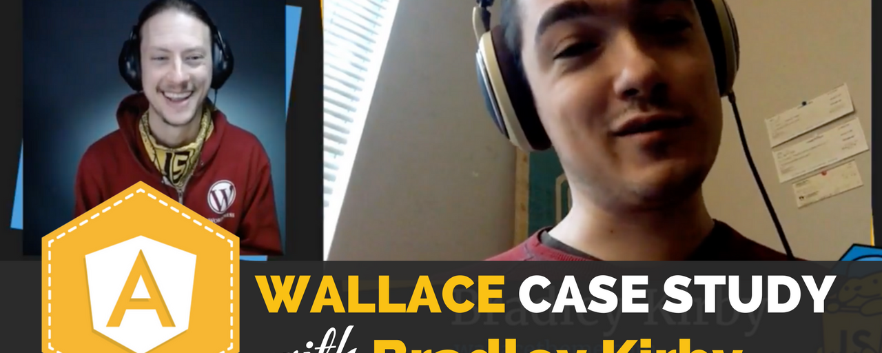 Interview with Angular Wallace Theme Creator Bradley Kirby