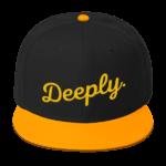 Deeply Snapback Cap Hat