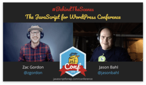 Jason Bahl JavaScript for WordPress