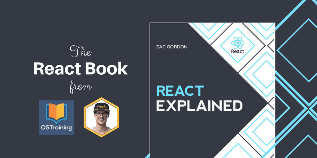React Book Cover from Zac Gordon and OSTraining