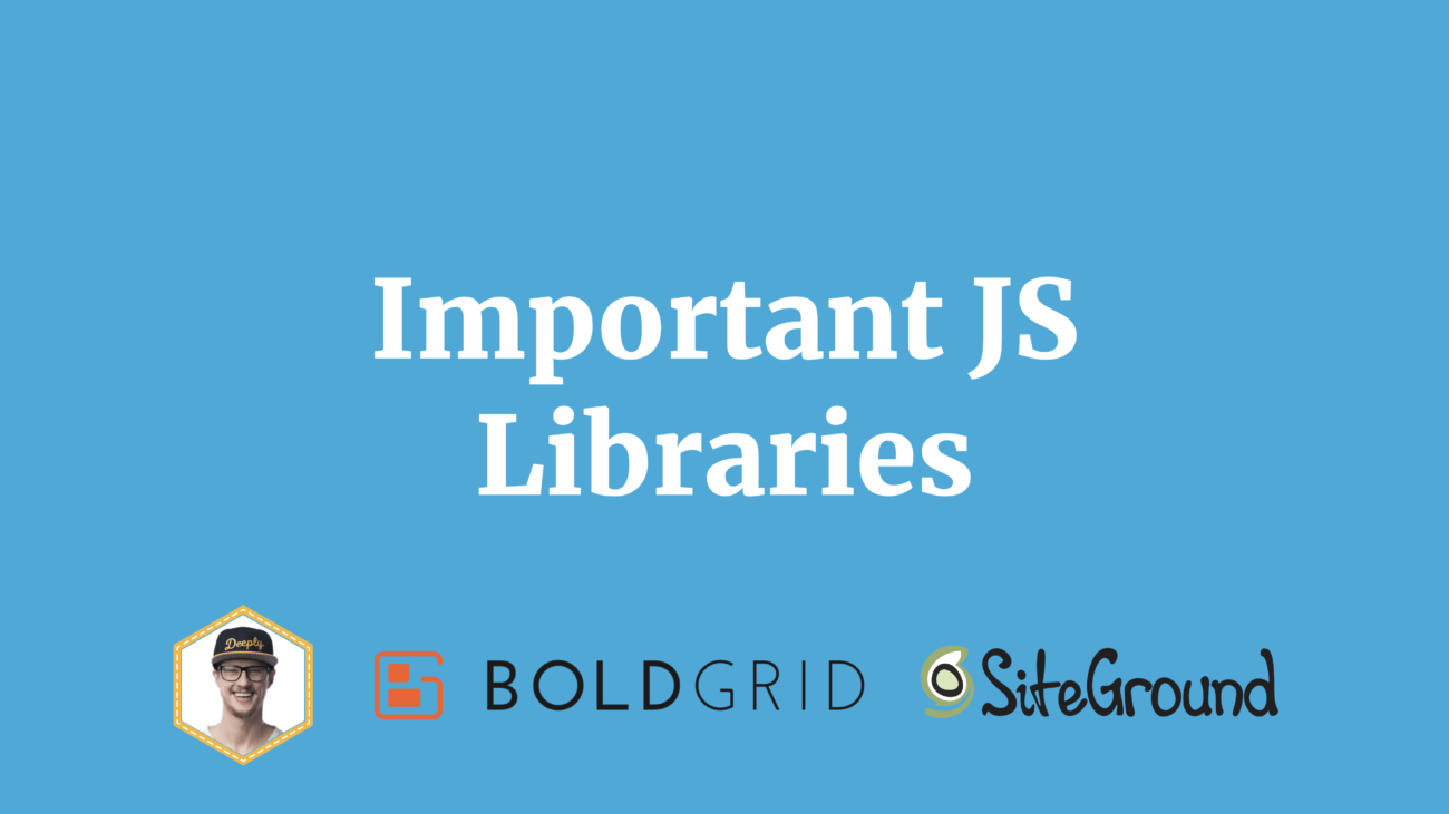 JavaScript Libraries in WordPress Gutenberg React Redux