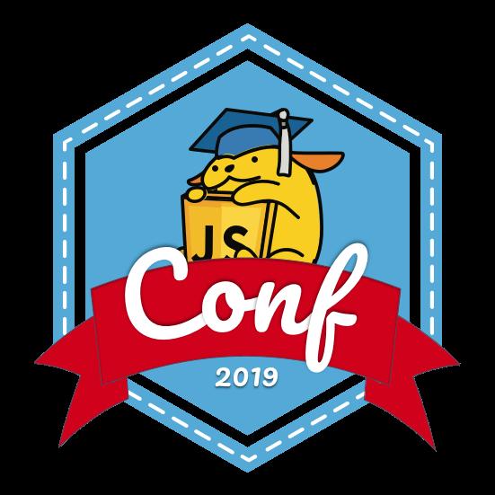 The JavaScript for WordPress 2019 Conference Wapuu Logo