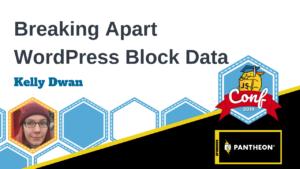Breaking Apart Block Data Kelly Dwan