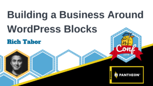 Building a Business Around Blocks Rich Tabor